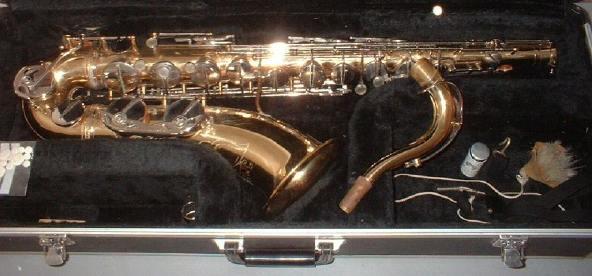 Impala Saxophon Gesamtansicht